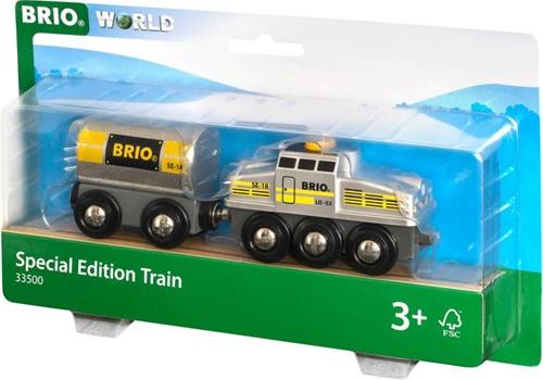 BRIO Special Edition zilverkleurige trein - 33500