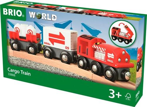 BRIO Rode goederentrein - 33888