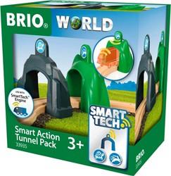 BRIO trein Smart Action Tunnel set 33935