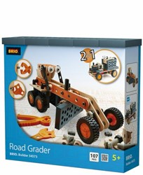 Brio  houten constructie speelgoed Builder Road grader 34573
