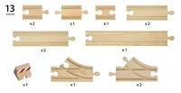 Brio  houten treinrails Starter Track Pack 33394-3