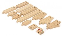 Brio  houten treinrails Starter Track Pack 33394-1