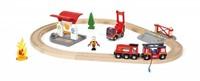 Brio  houten trein set Rescue Fire Rescue Set Flat 33815-2