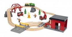 Brio  houten trein set Rescue Fire Rescue Set Deluxe 33817