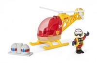 BRIO trein Brandweer helikopter 33797