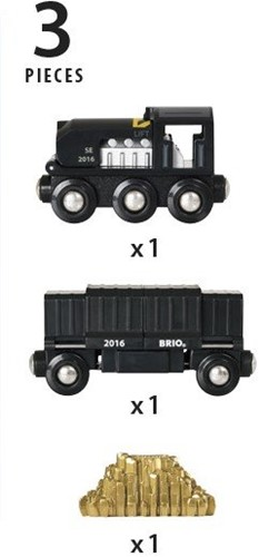 Brio  houten trein accessoire Special Edition 2016 Train 33839