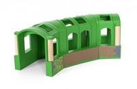 BRIO trein Groene flexibele tunnel 33709-1