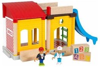 Brio  speelstad gebouw School speelset 33943-1