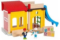 Brio  speelstad gebouw School speelset 33943