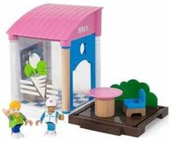 Brio  speelstad gebouw IJswinkel 33944