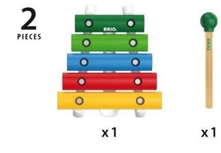 Brio  houten muziekinstrument Xylofoon 30182-1