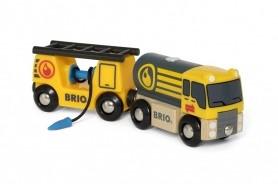 BRIO trein Tankwagen met aanhanger 33907