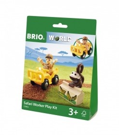 BRIO trein Safari Ranger Play Kit 33865