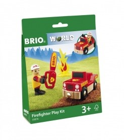 BRIO Firefighter Play Kit