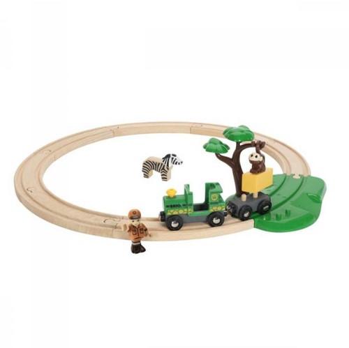 Brio  houten trein set Safari treinset 33720-1