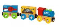 Brio  houten trein Verjaardagstrein 33818-1