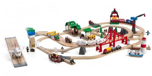 Brio  houten trein set De Luxe 33766-2