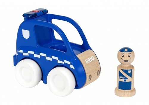 Brio  houten speelvoertuig Light & Sound Police Car-2
