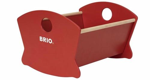 Brio  houten poppen meubel Wooden Doll Cradle-1