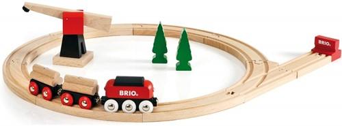 BRIO trein Klassieke goederentrein set 33010-1