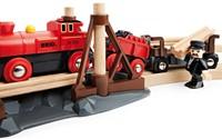 Brio  houten trein Stoomtreinset 33030