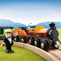 Brio  houten trein Stoomtrein 33036-2