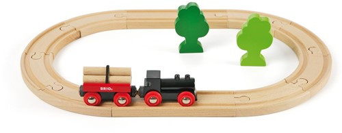 BRIO trein Treinset met bomen 33042-1