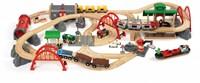 Brio  houten trein set Deluxe Railway set 33052-1