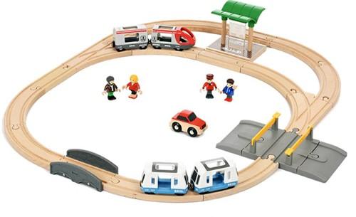Brio  houten trein set City transport Set 33139-1