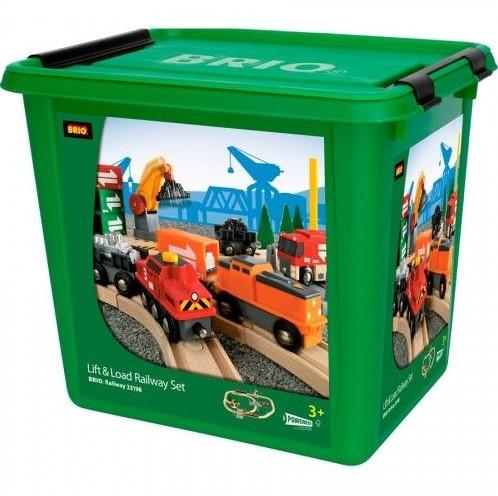 Brio  houten trein set Special Cargo Set 75-delig-2