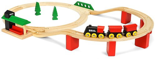 Brio  houten trein set Classic Deluxe set 33424-1