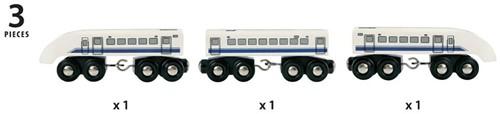 Brio  houten trein Hogesnelheidstrein Japan 33417-3