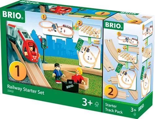Brio  houten trein set Railway starter set 33432-2