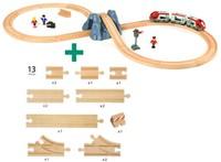 Brio  houten trein set Railway starter set 33432-3