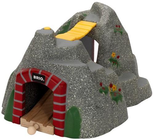 Brio  houten trein accessoire Adventure tunnel 33481-1