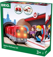 Brio  houten trein set Metro trein set 33513-2