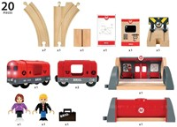 Brio  houten trein set Metro trein set 33513-3