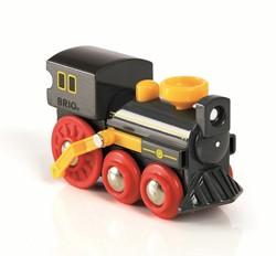 Brio  houten trein Oude stoomlocomotief 33617