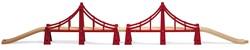 Brio  houten trein accessoire Dubbele Sidney brug 33683