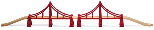 BRIO Double Suspension Bridge