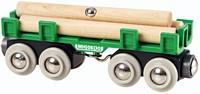 BRIO trein houttransport wagon 33696