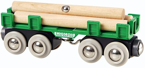 BRIO Houttransport wagon - 33696