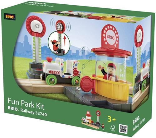 BRIO houten trein accessoire Pretpark 33740-2