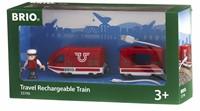 BRIO trein Oplaadbare rode passagierstrein met USB kabel 33746-2