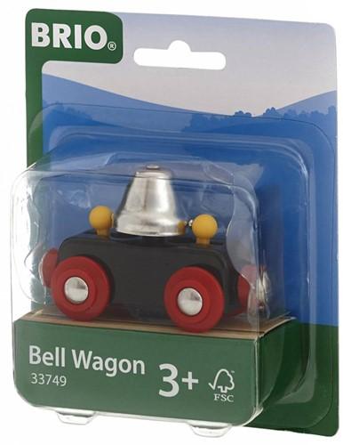 Brio  houten treinwagon Bel wagon 33749-2