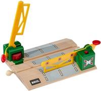 Brio  houten trein accessoire Overweg magnetisch 33750-1