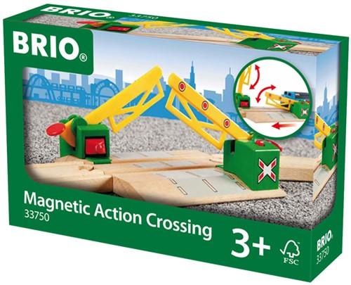 BRIO trein Magnetische spoorwegovergang 33750