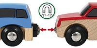 Brio  houten trein accessoire Autoset 3 assorti 33759-2