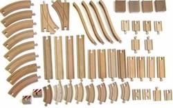 Brio houten trein rails 50 stuks 33772