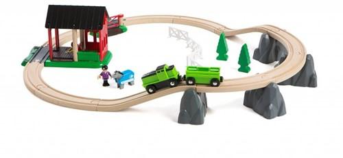 BRIO trein Treinset paarden 33790-1